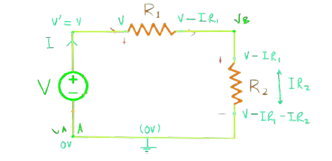 Observation of kirchhoff's current law