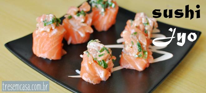 receita de sushi jyo