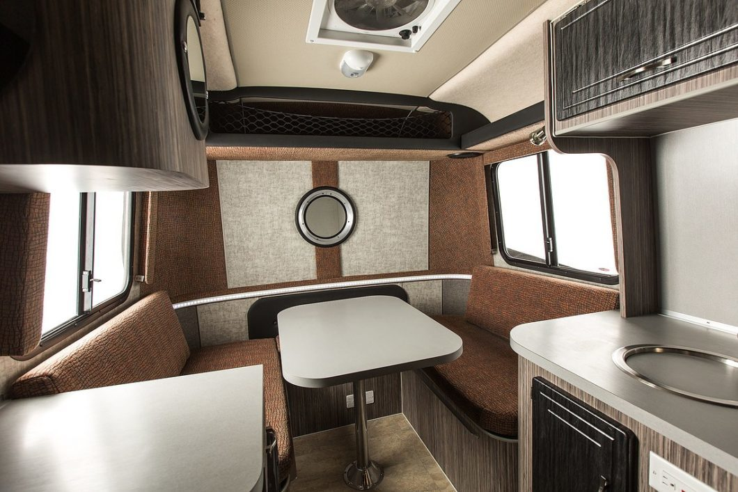 Armadillo Trailer: 13-Foot Stylish Camping Option with Awesome Interior