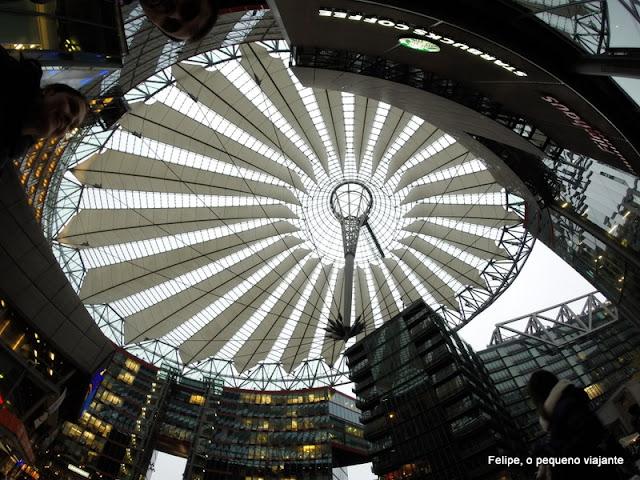 Sony Center em Potsdamer Platz, Berlim