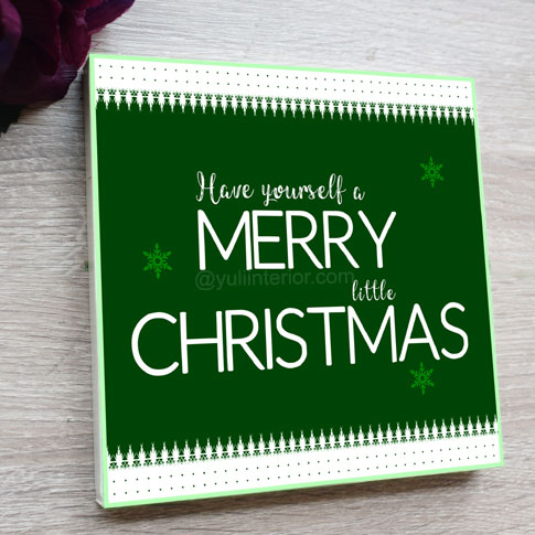 Merry Christmas Wood Decor Sign in Port Harcourt Nigeria