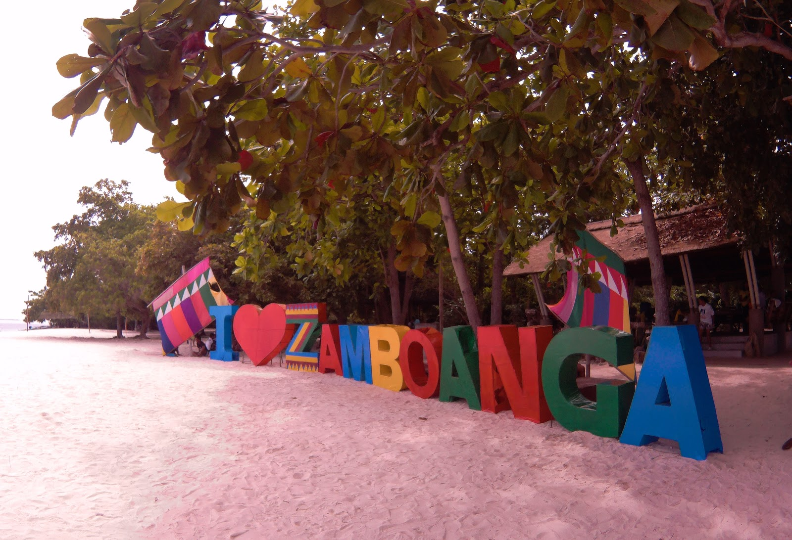 The Pink Sand Beach of Zamboanga City - Sta Cruz Island