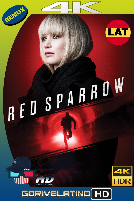 Operación Red Sparrow (2018) BDRemux FULL 4K HDR Latino-Ingles MKV