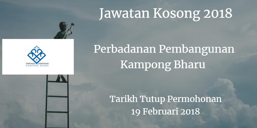 Jawatan Kosong PKB 19 Februari 2018