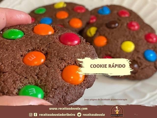 Receita de Cookie Rápido