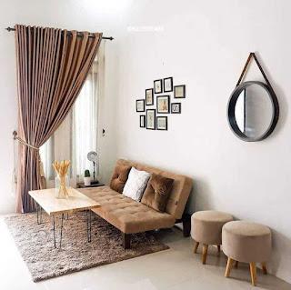 Desain interior rumah type 36 ruang tamu