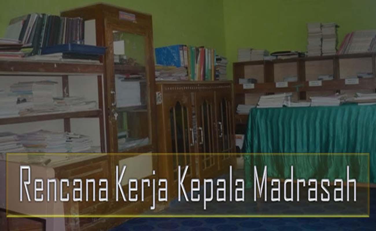 Download Contoh Rencana Kerja Kepala Madrasah