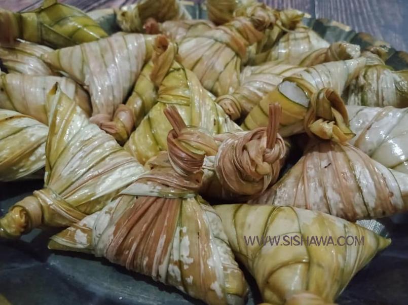 ketupat palas frozen Kelantan