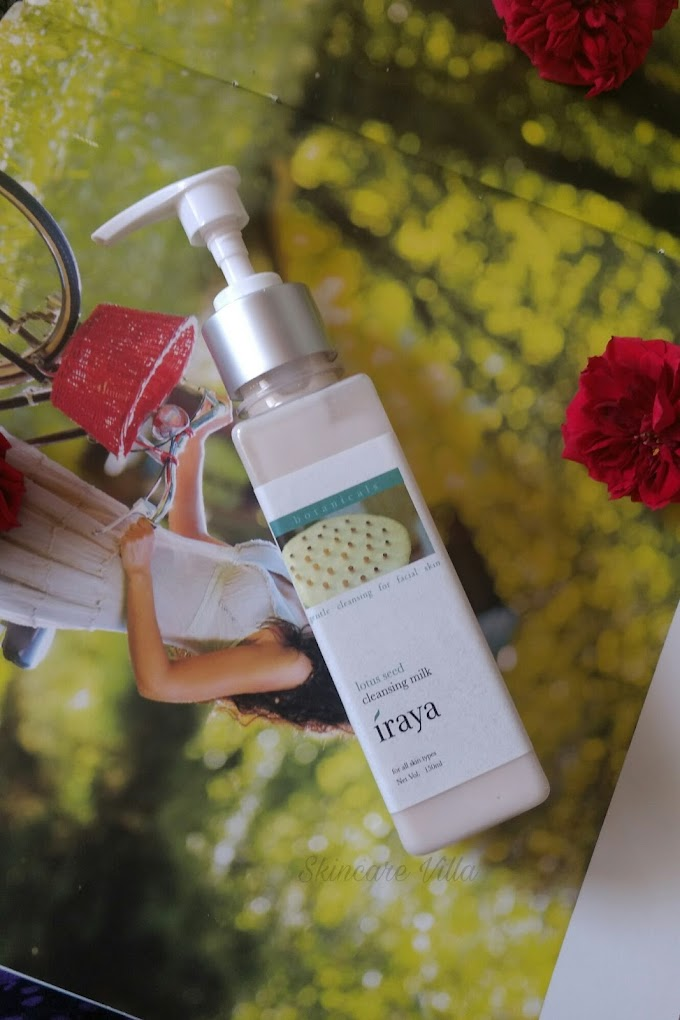 Iraya Lotus Seed Cleansing Milk Review