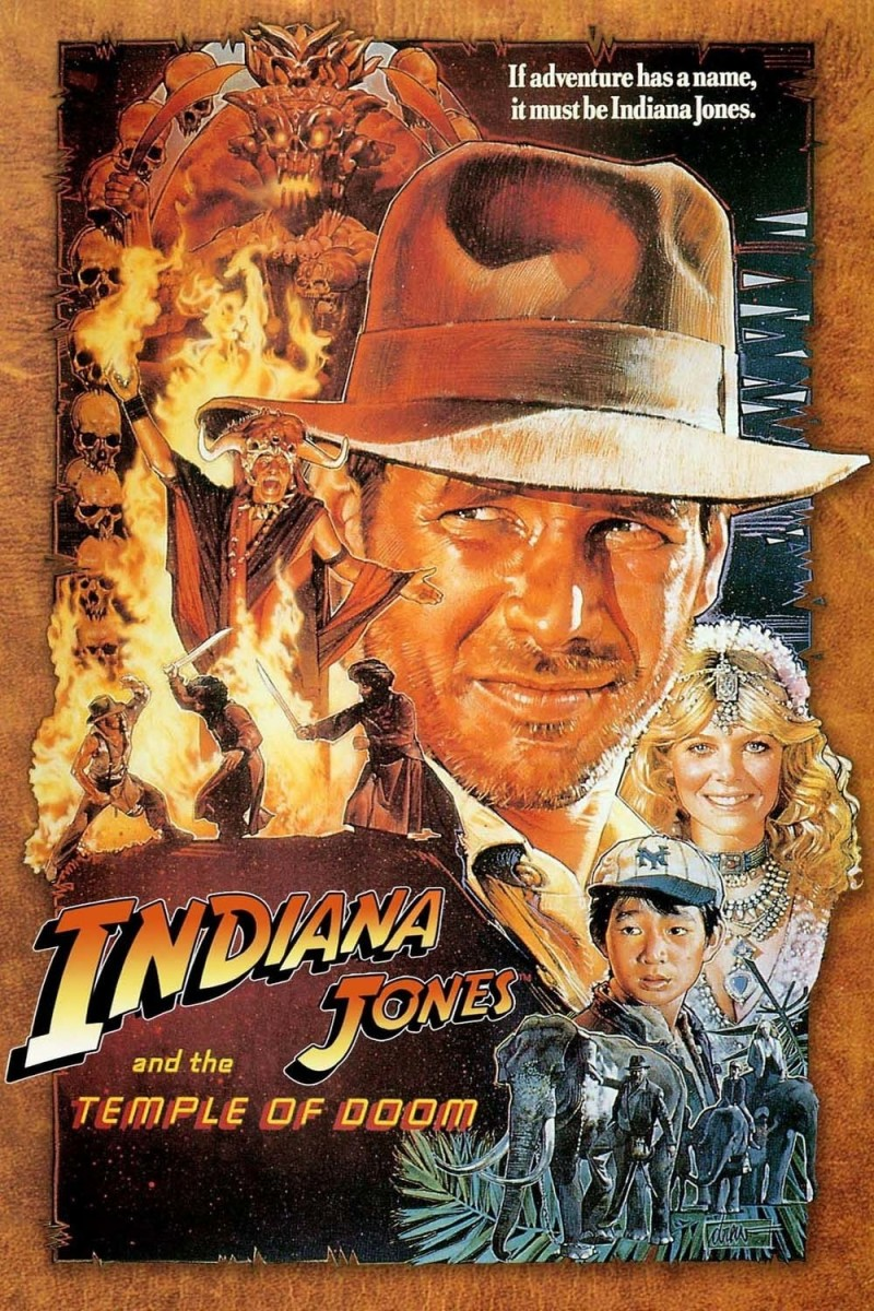 The temple of doom indiana jones