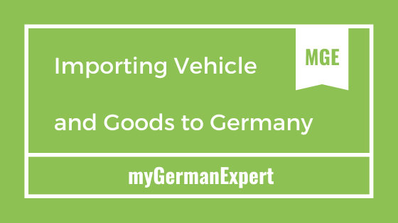 Vehicle Import Germany