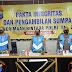 Tidak Dipungut Biaya, Panitia dan Peserta Calon Anggota Polri Polda Kalsel Disumpah dan Lakukan Penandatangan Pakta Integritas