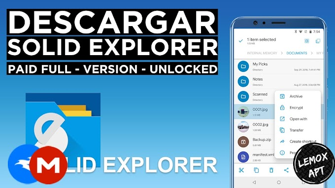 ✅ | Descargar Solid Explorer - MOD Paid APK - 2021 | Unlocked | Final - NO Ads |