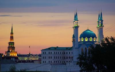 masjid indah di rusia
