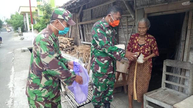 KodimKaranganyar - Pandemi Covid-19, TNI Selalu Ada Untuk Rakyat
