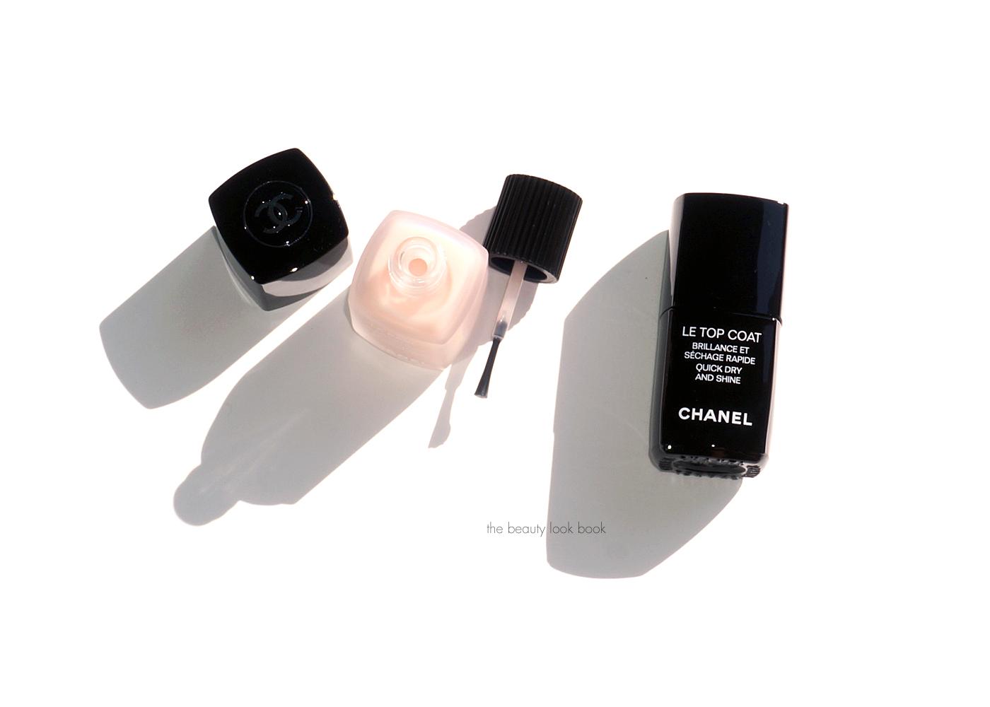 5de54f43 Chanel Collection Automnales La Base Coat, Le Top Coat and new Le ...