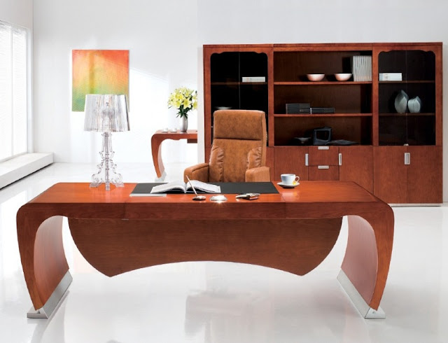 best buy wooden modern executive office table design ideas
