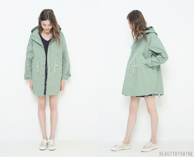 Cute fashion parka inspiration
