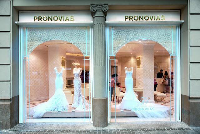 Loja Pronovias em Barcelona