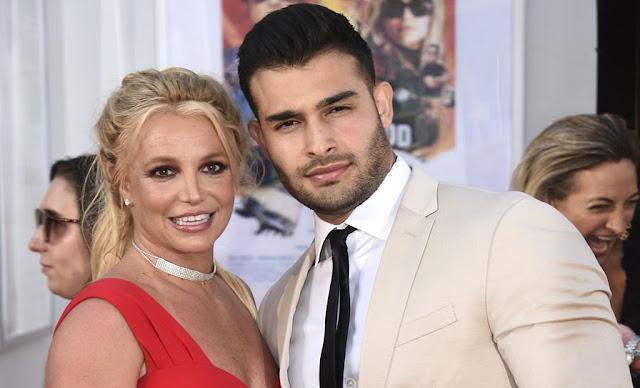 بريتني سبيرز  سام أصغري Britney Spears Sam Asghari