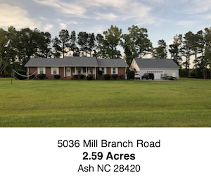 Mill Branch Road / ASH