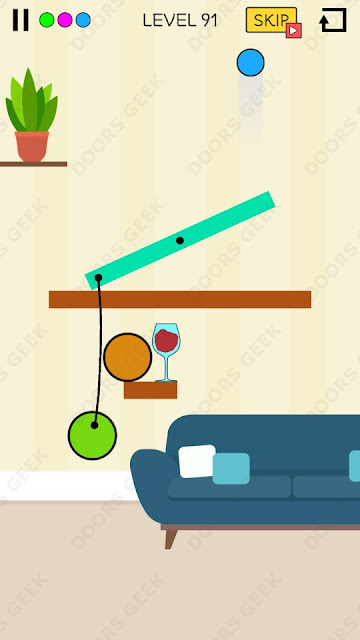 Spill It! Level 91 Walkthrough, Solution, Cheats for Android, iPhone, iPad and iPod