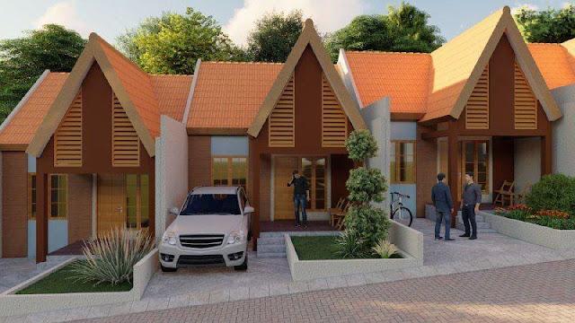 Cluster Villa Sharia Villa Syariah Murah di Ciomas Bogor Jawa Barat