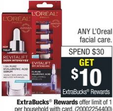 L'Oreal Facial Care