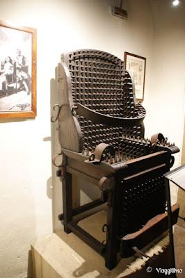 Uno degli strumenti ospitati nel Museo delle Torture di San Marino