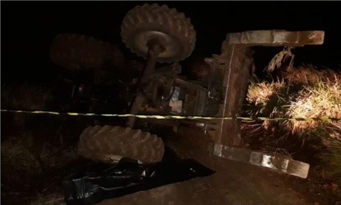 Homem morre em acidente com trator em Nova Laranjeiras