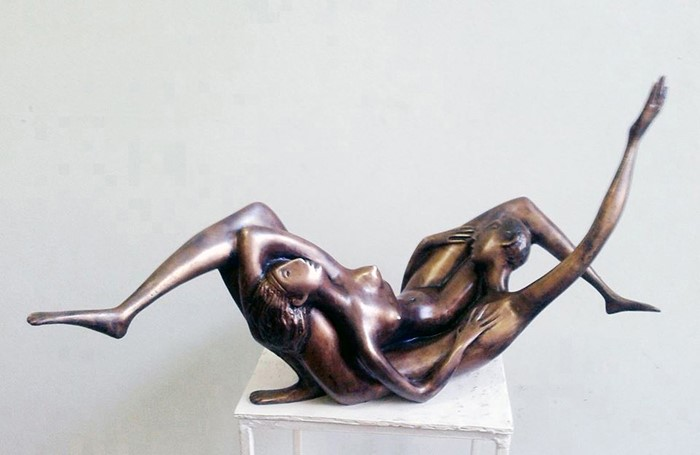 Later 2000yea bronze H 37X71X30cm  20000$