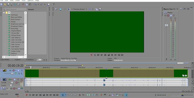 Cara Mengatasi Green Screen saat Import Video di Vegas Pro 13
