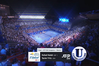 ATP 500 Acapulco Abierto Mexicano Telcel Open Eutelsat 7A/7B Biss Key 1 March 2020