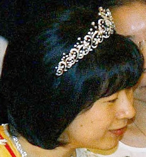 diamond tiara mikimoto japan princess nori sayako bangja korea