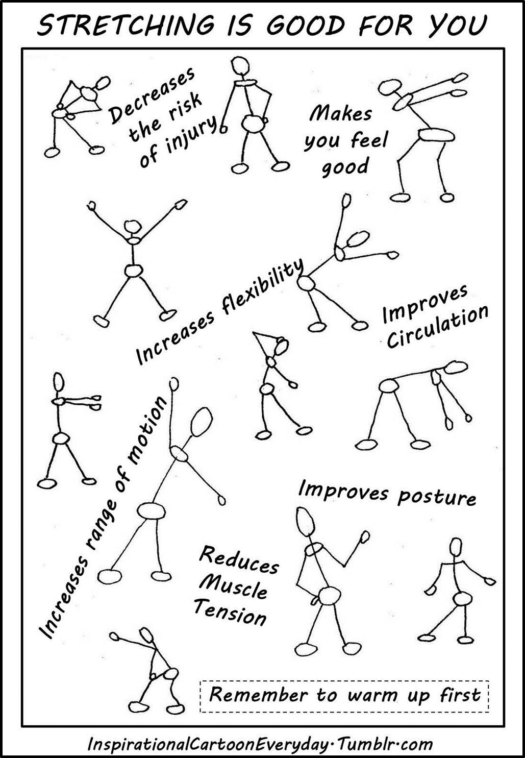 Motiveweight Stretching Is Good For You