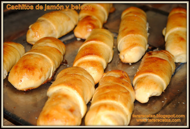 Cachitos venezolanos de jamón receta latinoamericana 01