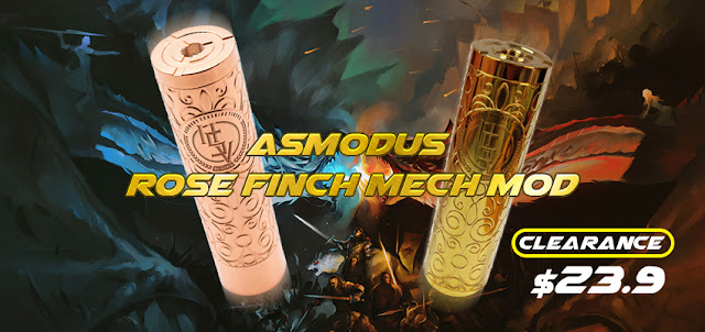 What's your think of asMODus Rose Finch Mechanical Mod?