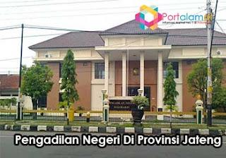 Alamat Kantor Pengadilan Negeri Di Jawa Tengah
