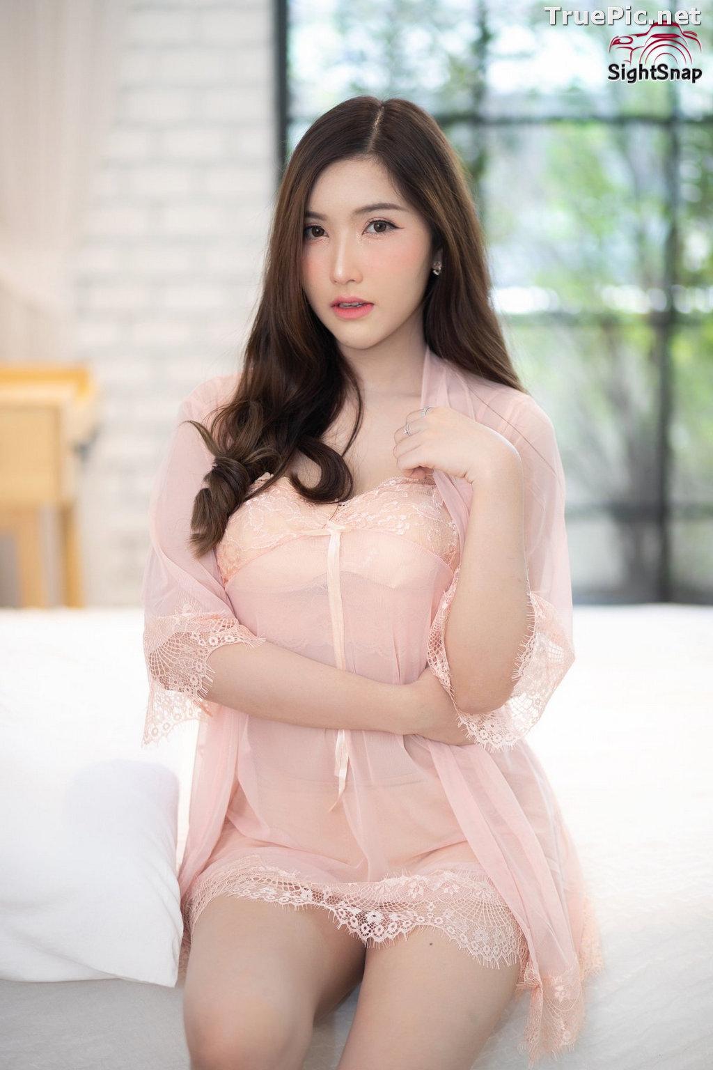 Image Thailand Model - Luc Kie - Nice Pink Love Night Dress - TruePic.net - Picture-7