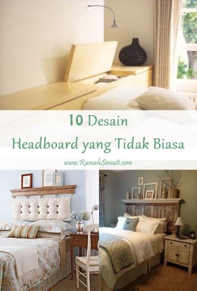 10 Desain Headboard yang Tidak Biasa