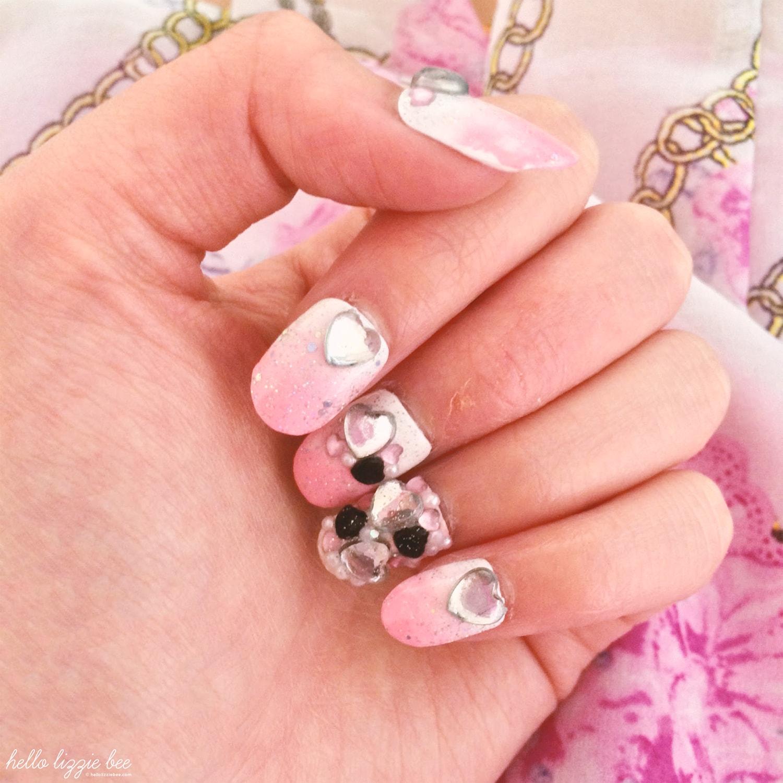 cute short nail art