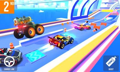 yaitu satu salah satu game racing terbaik yang ketika ini sanggup kalian mainkan secara grati SUP Multiplayer Racing v1.6.8 MOD APK on Android (Money)