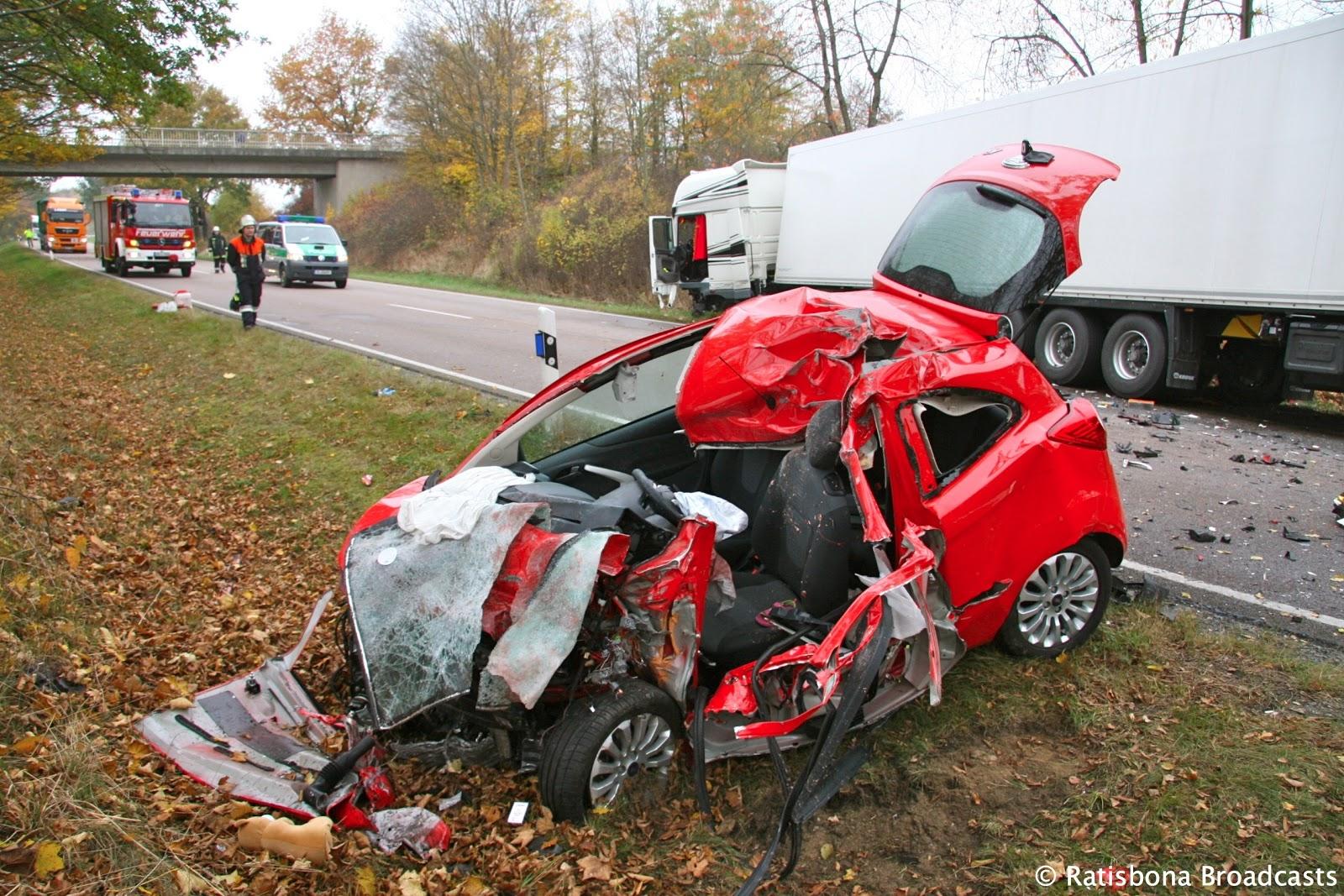 verkehrsunfälle bayern heute