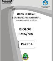 soal usbn biologi 207/208 paket 4