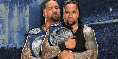 The Usos Celebrate Their Return With Roman Reigns