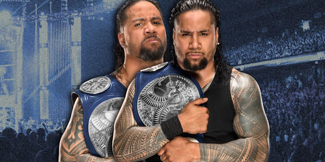 The Usos Added To Tonight's RAW Tag Team Titles Match To Make It A Triple Threat