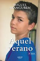 portada de la novela realista Aquel verano, de Miguel Aranguren