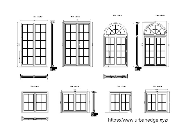 Window cad blocks