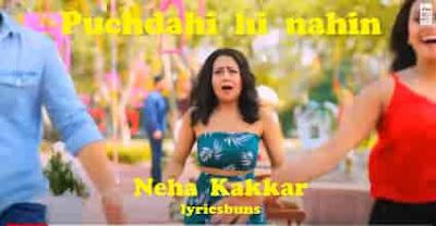 Puchda-Hi-Nahin-Neha-Kakkar-Song-lyrics