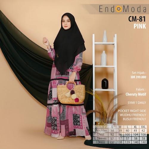 Endomoda CM 81 Pink Murah